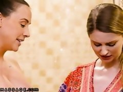 NuruMassage Chanel Preston Helps Young Couple Loosen Up uploaded 1 year ago by hammy