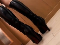 Kinky double dildo test for young secretary added 3 years ago by